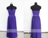 Dress: purple bridesmaid dress, long prom dress, purple ...