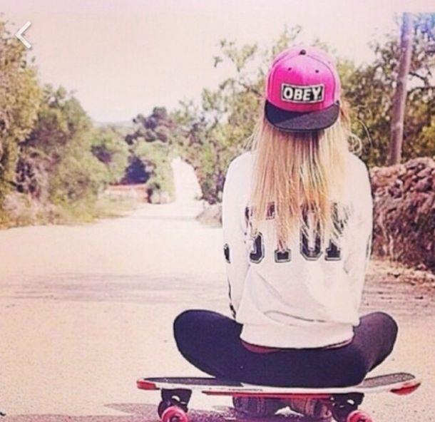 Snapback Girl Wallpaper Hat Cap Cap Beanie Obey Pink Black White