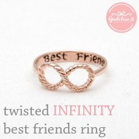 jewels, jewelry, ring, infinity ring, best friends ...