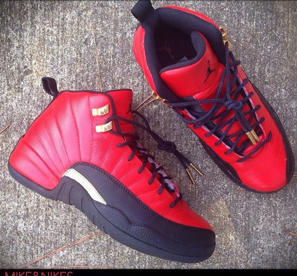 Shoes Jordans Style Glo Gang Red Shoes Wheretoget