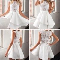 dress, lost souls, white dress, white lace dress, white ...