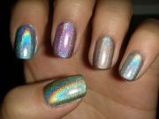 nail polish rainbow fashion