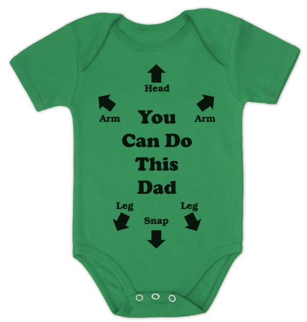 Can You Do This Dad Baby Onesie
