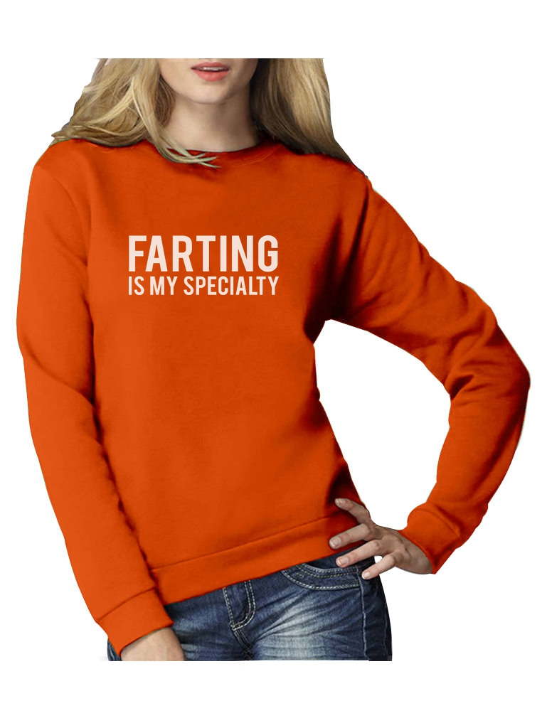 Farting In The Hood : farting, Farting, Specialty, Funny, Women, Sweatshirt