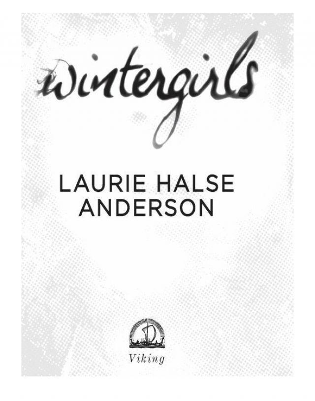 Wintergirls (Laurie Halse Anderson) » p.1 » Global Archive