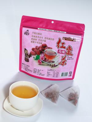 棗霸子  各類紅棗食品、紅棗蜜餞、紅棗茶、公館紅棗乾::特色商品::紅棗玫瑰茶