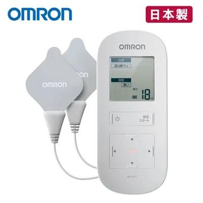 【康諾健康生活館】::【來電享優惠】歐姆龍OMRON 溫熱低週波治療器 HV-F311 附貼片 (HVF311溫熱低週波電療機)