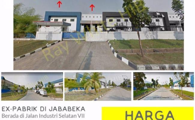 Dijual Tanah Dan Bangunan Ex Pabrik Di Jababeka Cikarang