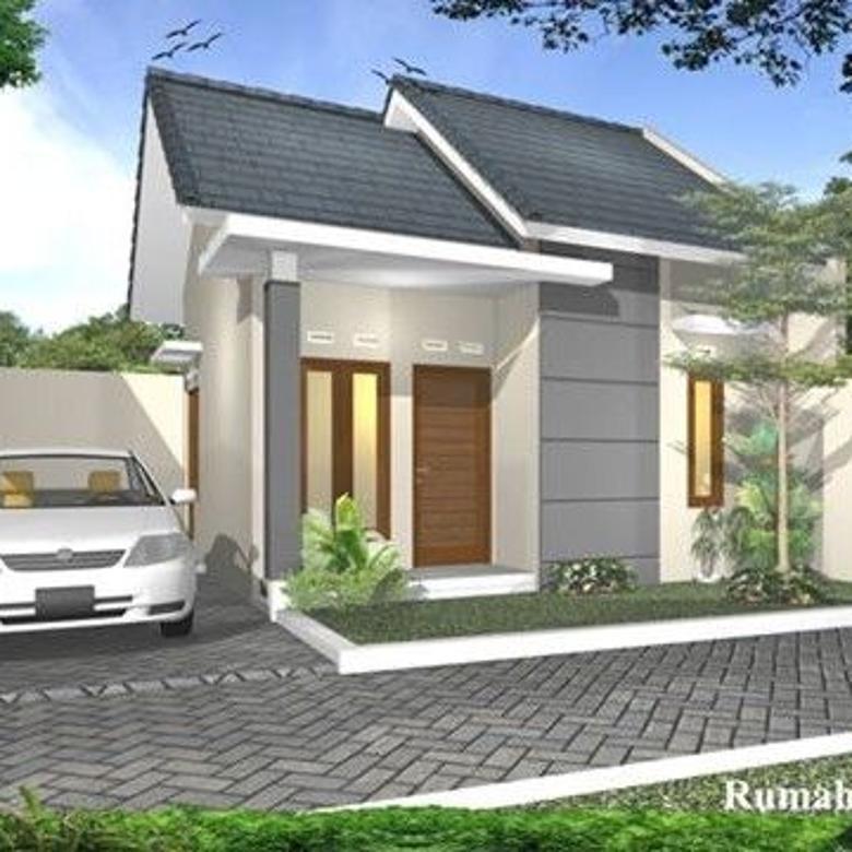 baja ringan teras rumah minimalis dengan atap di purwomartani