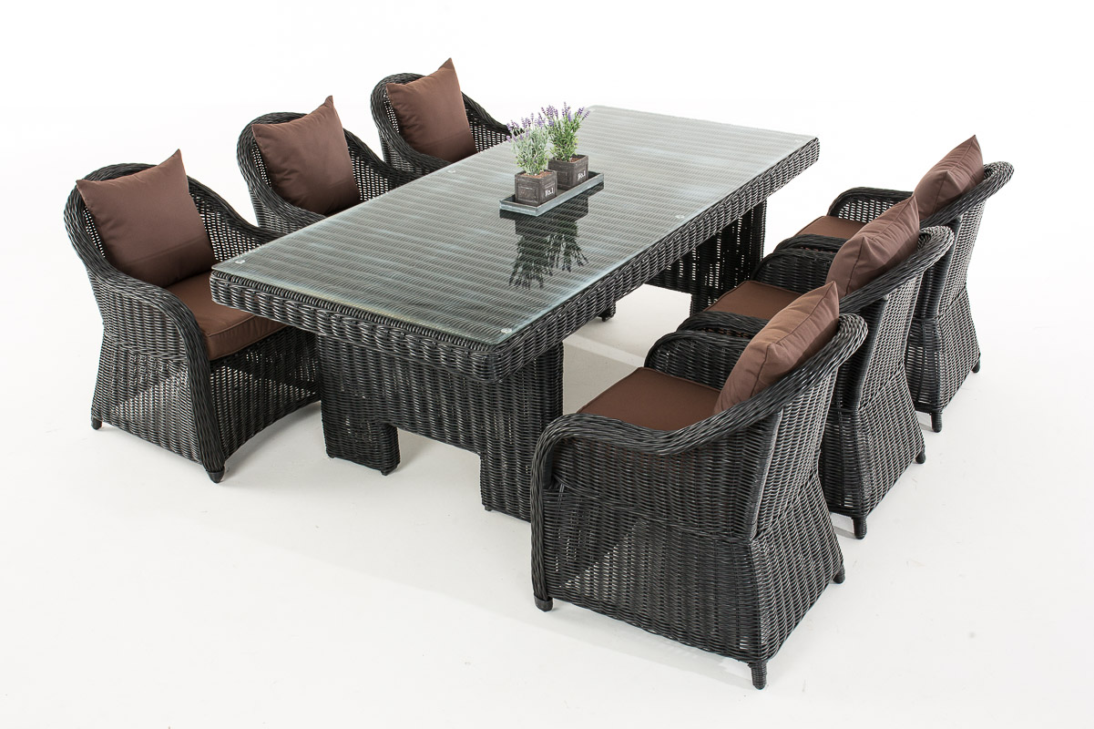 Lounge Garnitur Polyrattan Lounge Couch Terrasse Covers Code