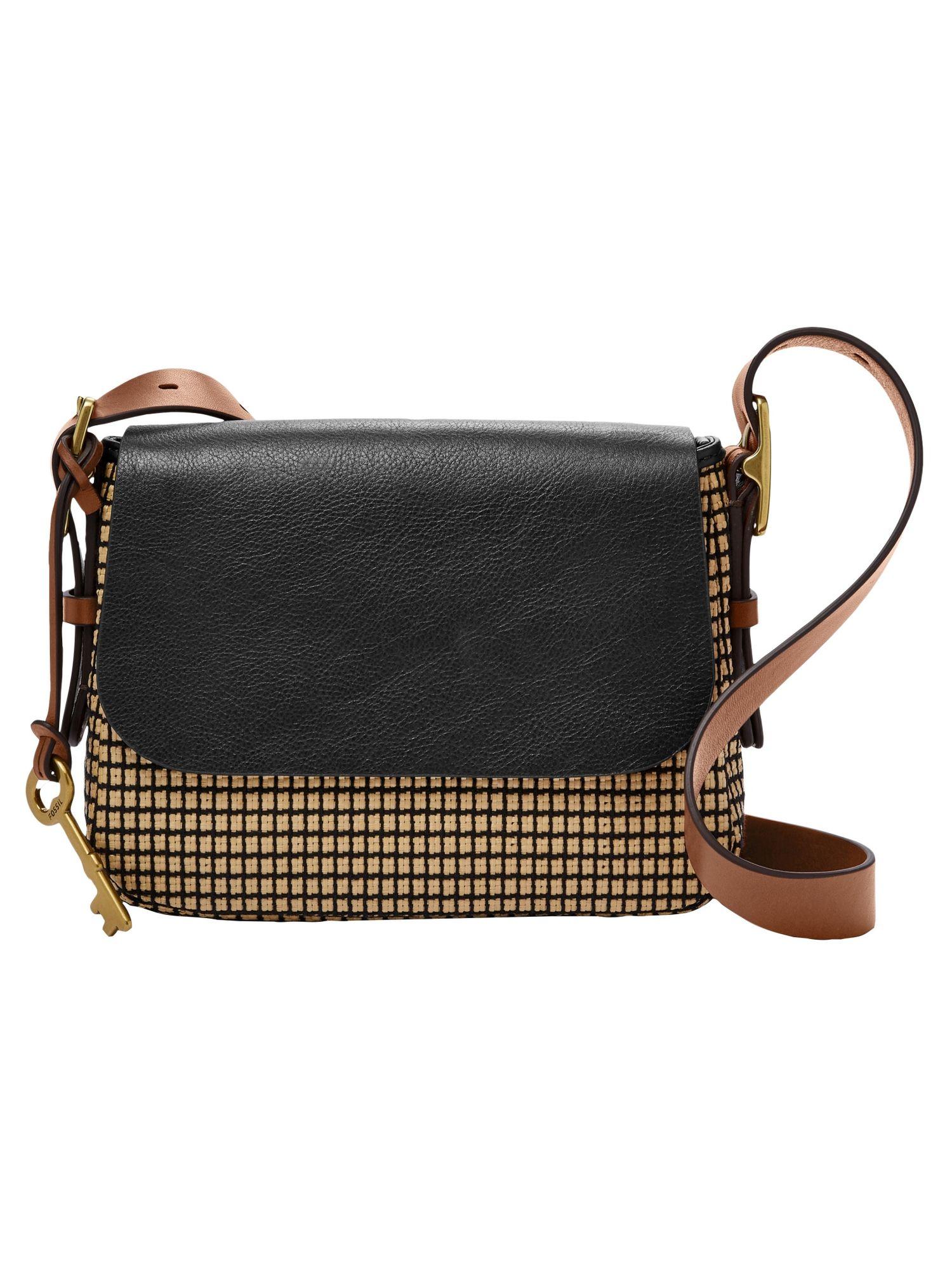 98a54cce64acc Fossil Damen Handtasche Tasche Harper Sm Crossbody Schwarz Zb7544 994