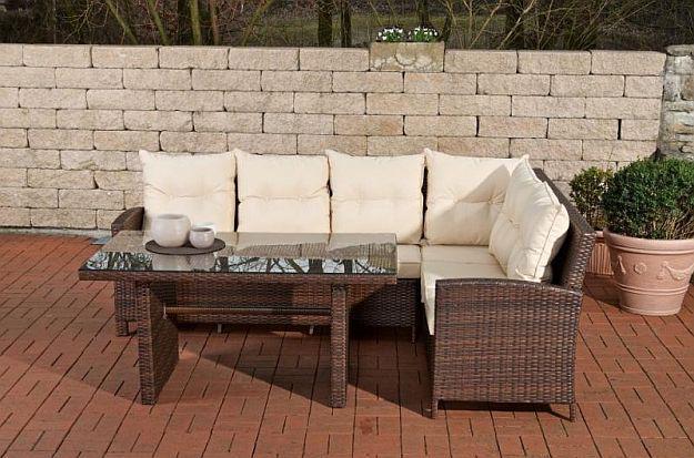 Eckbank Rattan Gartenmobel Fotos  Wohndesign