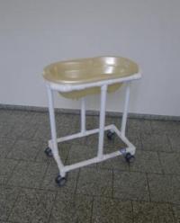 Klinik: WK7 -in Sonderfarbe- rollbare Wickelkommode ...