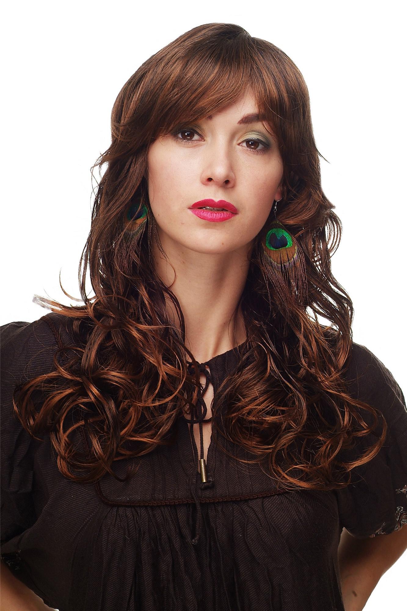 Frisuren Damen Lang Braun