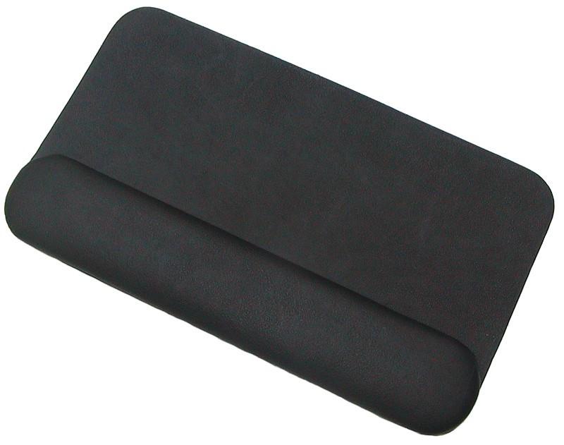 leder tastatur unterlage schwarz mit handballenauflage ideal fur mac trackpads
