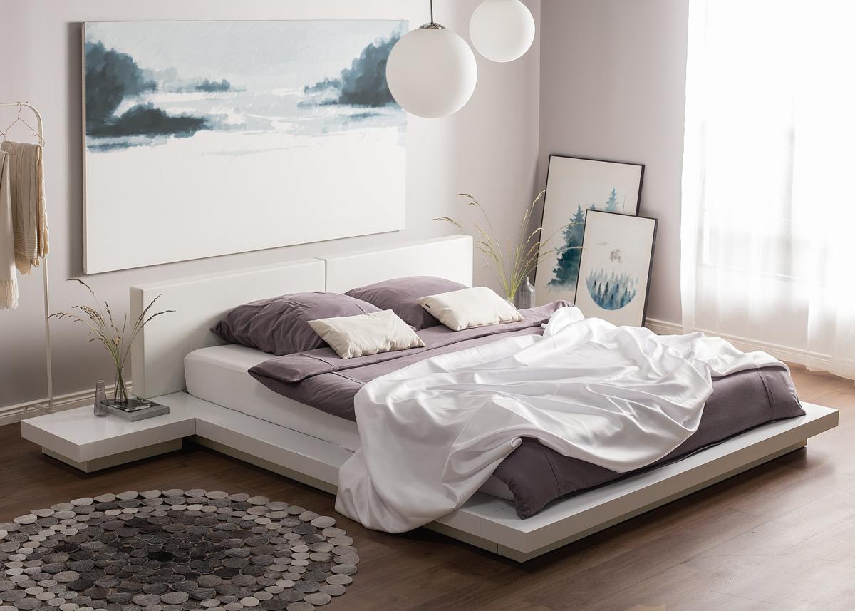 Echtholz Bett 180x200 Bett 180x200 Massivholz Schön Balder Bett