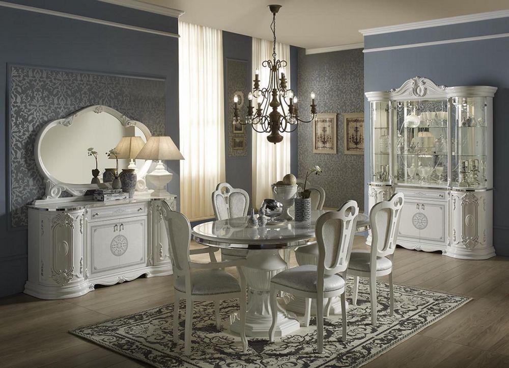 Schlafzimmer Great weiss silber klassische Design italienisch 18  Kaufen bei KAPA Mbel