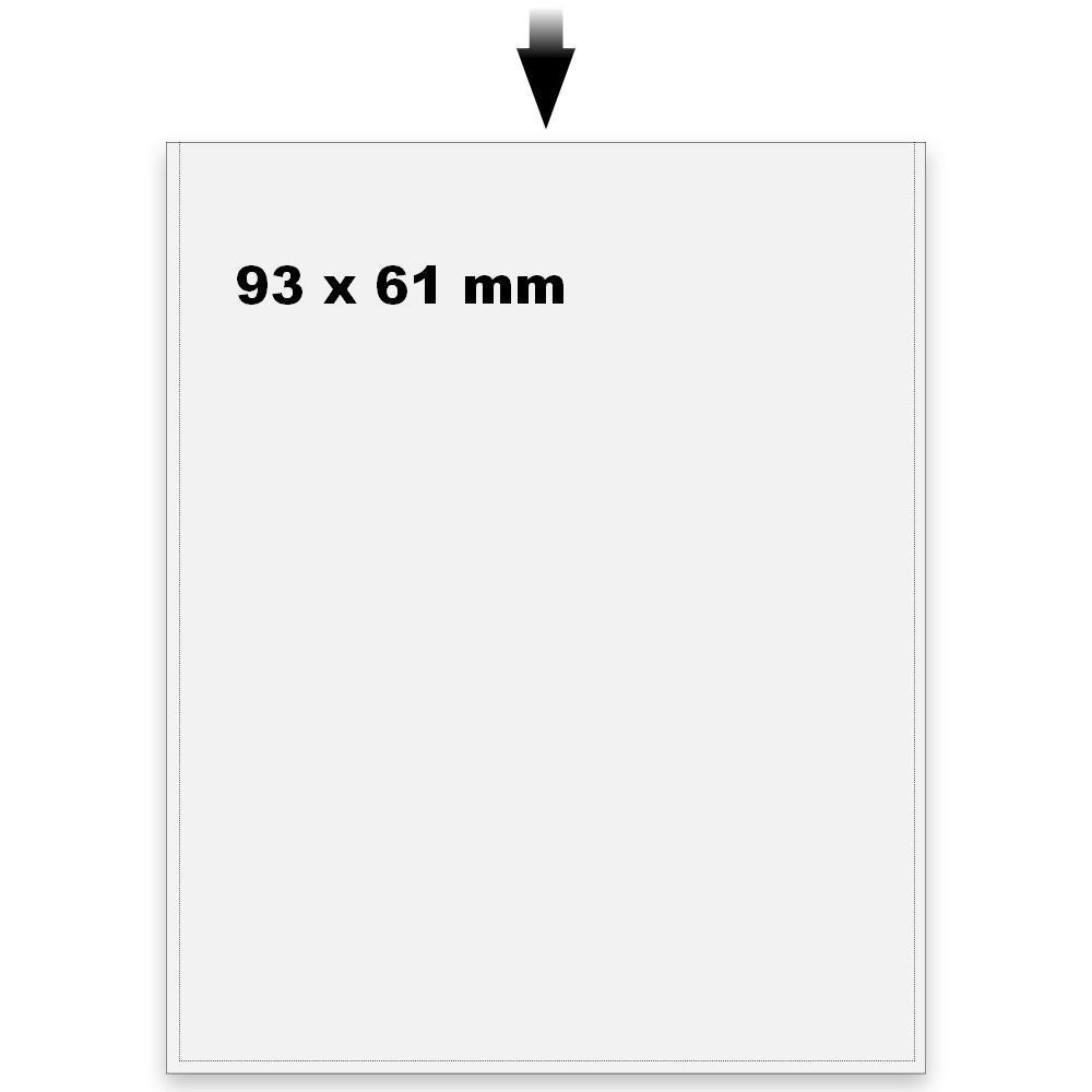 50 SAFE 9240 Telefonkartenhüllen Hüllen Schutzhüllen für