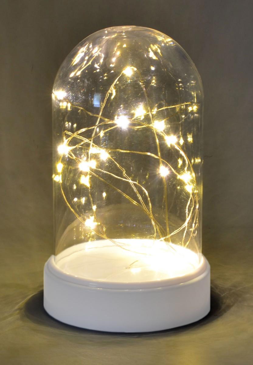Tischdeko Lichterkette