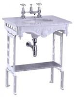 Casa Padrino Luxus Jugendstil Stand Waschtisch Weiß / Weiß ...