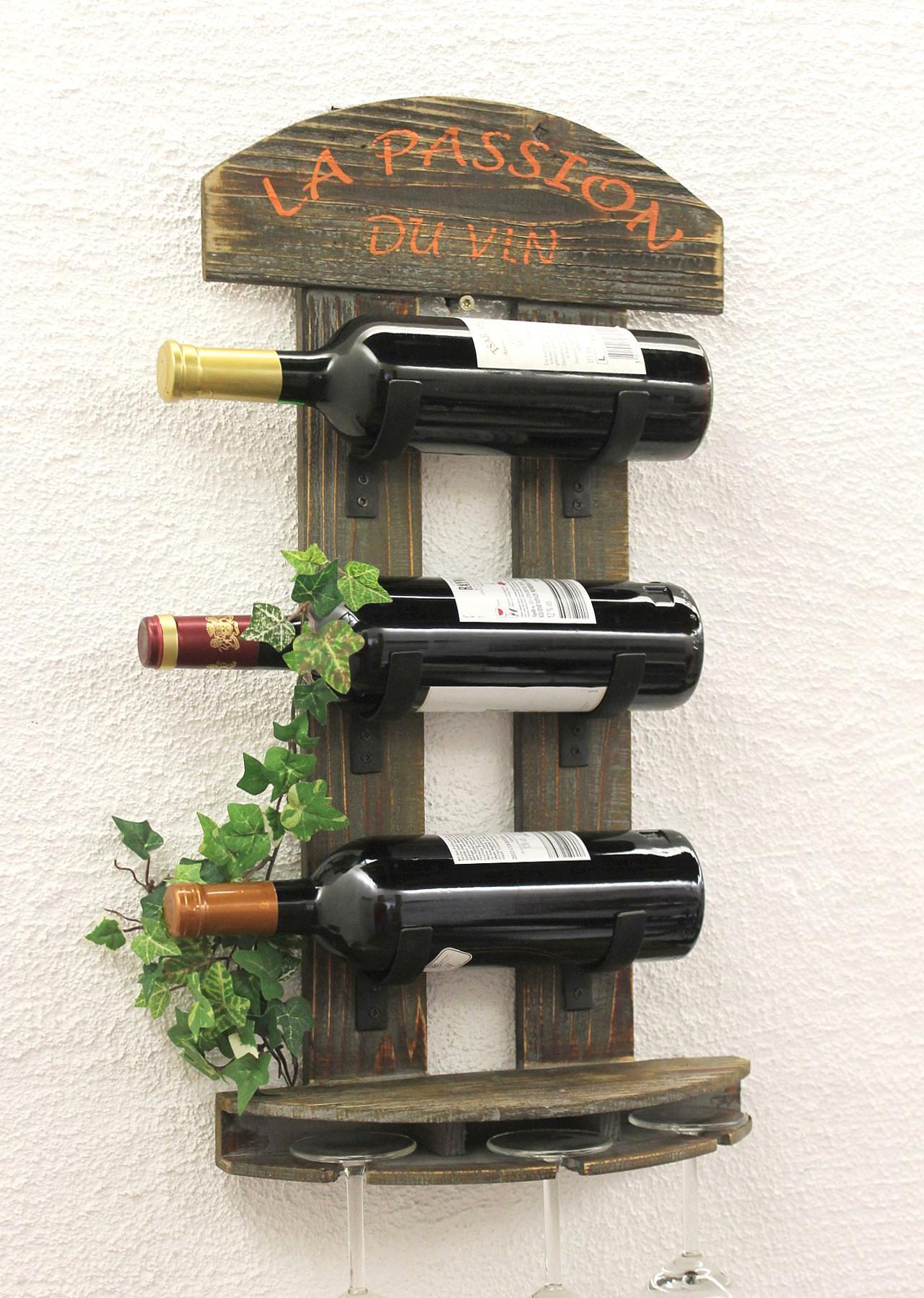 Wine Accessories Weinregal Flaschenstander 12977 83 Cm Metall Holz Flaschenhalter Regal Bar Wein Home Furniture Diy Coffinsbaron Co Za