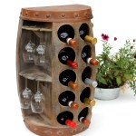 Weinregale Mobel Wohnen Weinregal 18 Flaschen Flaschenstander Holz Weinregal Wine Rack Kuche Keller Bar Fr Regnum Be