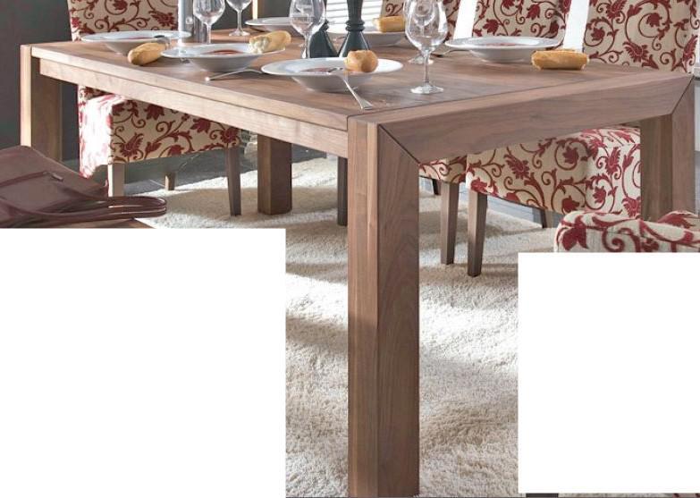 Esstisch Tisch Esszimmertisch Esszimmer Kche Nussbaum