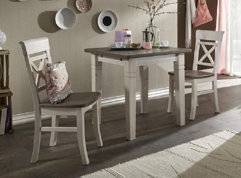 Tischgruppe Tisch  2 Sthle kleine Kche Kiefer massiv