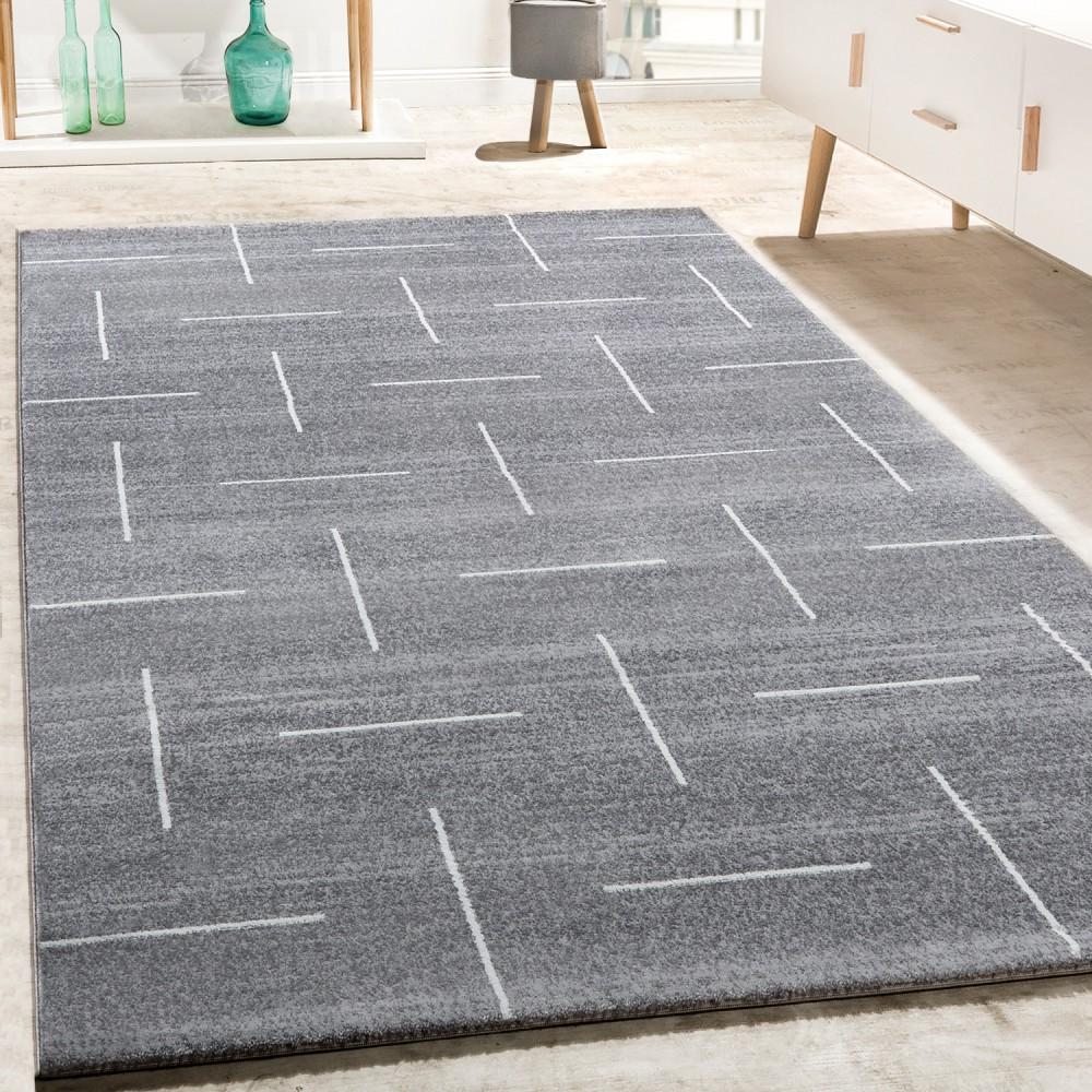 86648a282e62d2 Designer Teppich Wohnzimmer Barock Muster Schwarz Grau