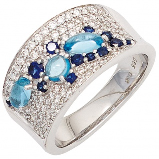 Blauer Diamant Ring online bestellen bei Yatego