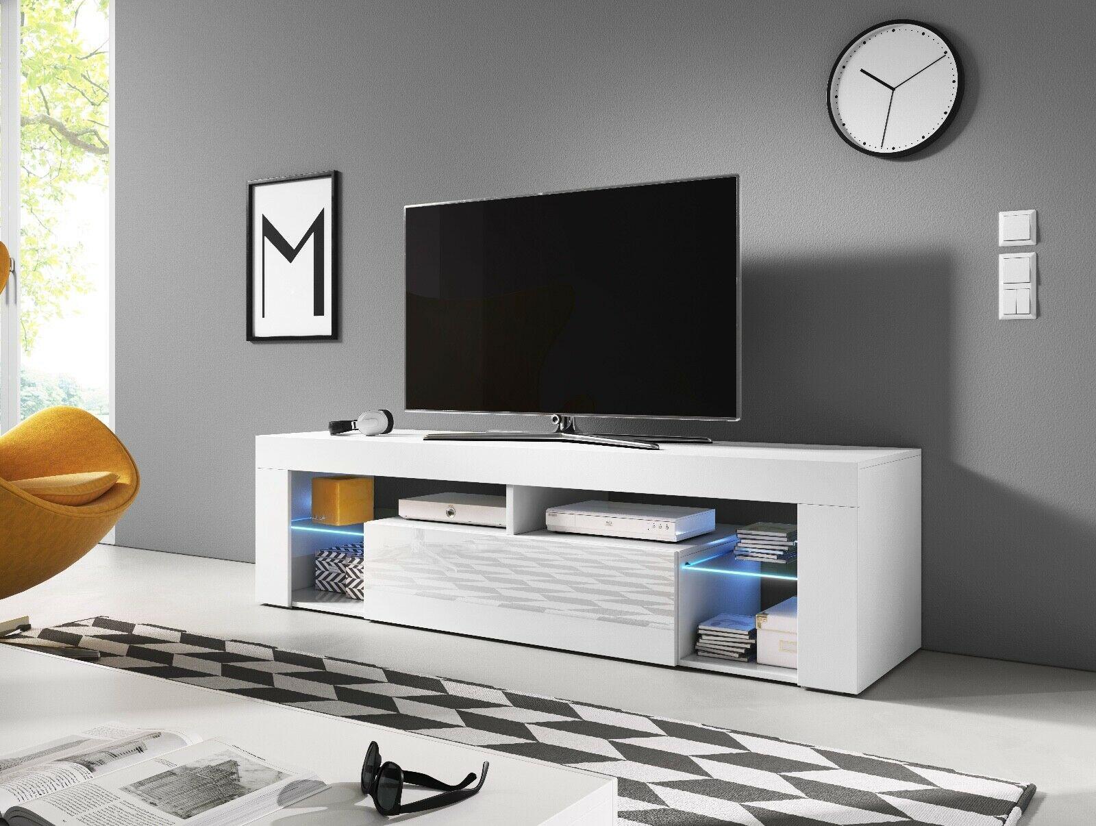 sideboard lowboard tv fernsehschrank ever 2 140 cm kommode inkl led highboard