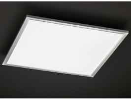 Flache LED Deckenleuchte 60x60 cm eckig Ultraslim Paneel ...