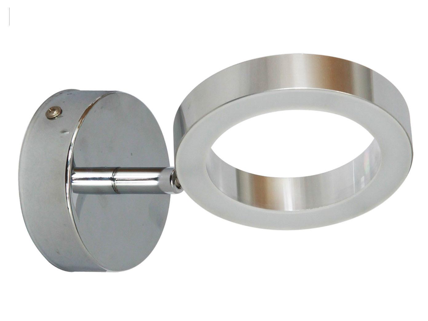 Moderne LED Wandleuchte ANZIO frs Badezimmer