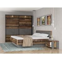 Forte Clif Binou Schlafzimmer Set bestehend aus Bett ...