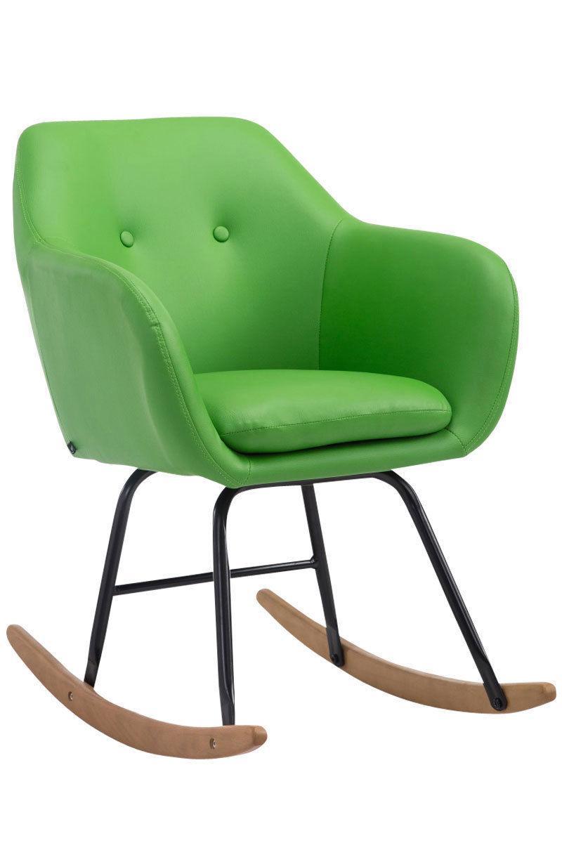 Schaukelstuhl Modern Moderner Stuhl Schaukeln Stockfoto Belchonock