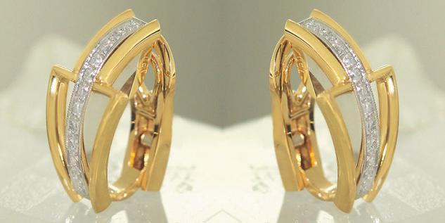 Ohrclips Gold gnstig  sicher kaufen bei Yatego