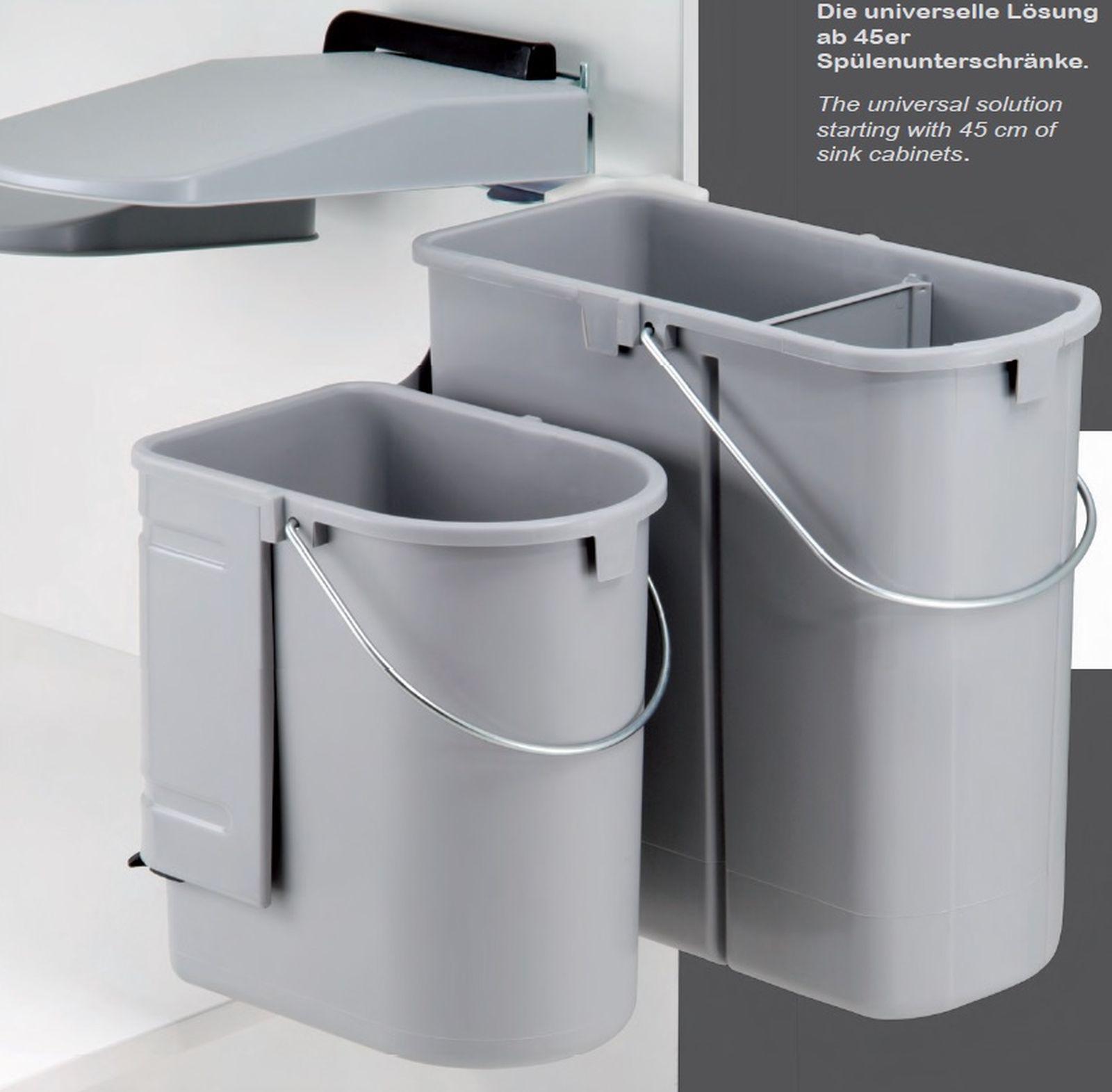 Mülleimer Küche Wesco Trennsystem