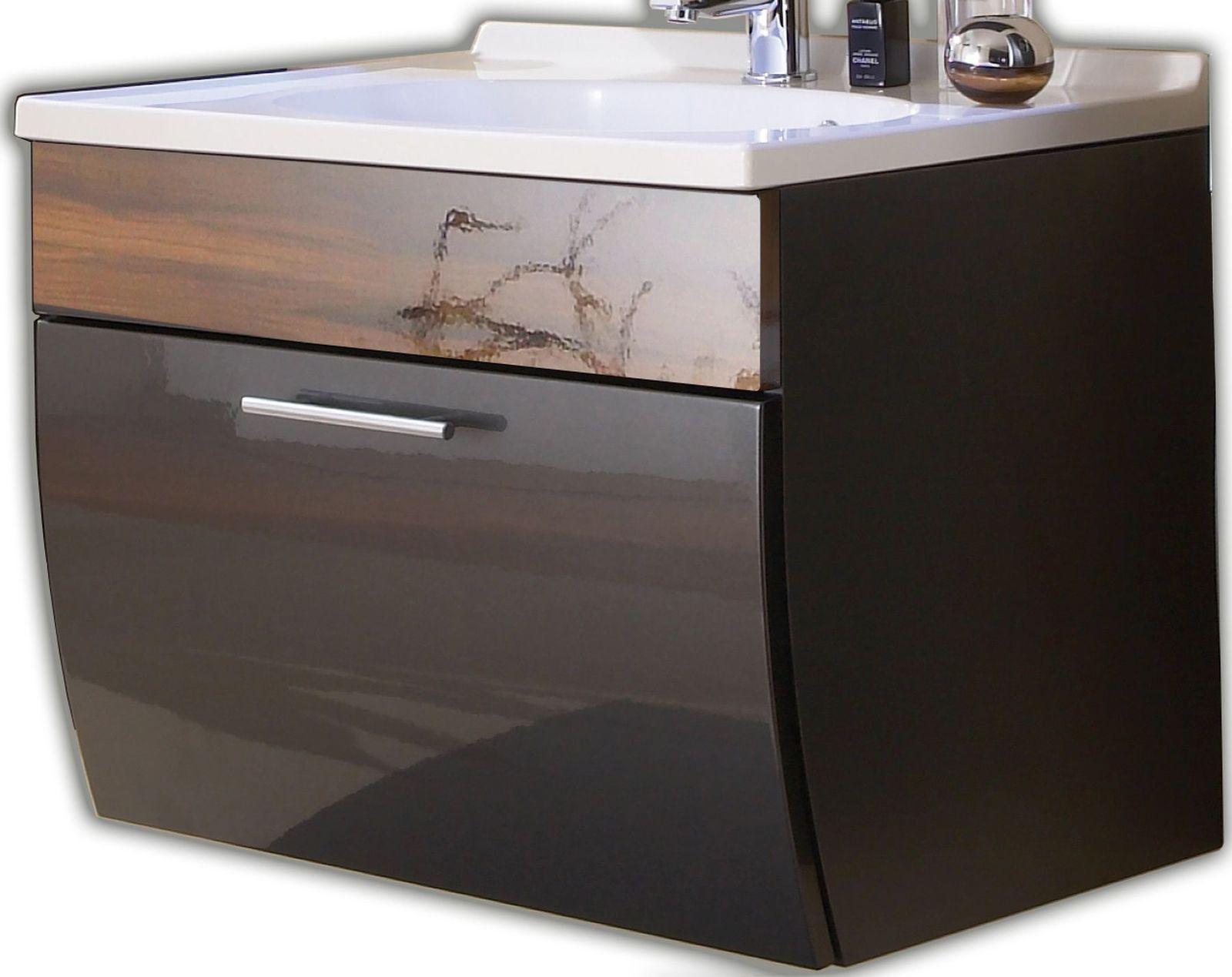 Waschbecken 70 Cm Cheap Wohnfreuden Marmor Waschbecken Cm Eckig Innen Poliert Creme Naturstein