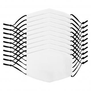 10 Gesichtsmasken für den Sublimationsdruck, 38cm