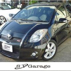Toyota Yaris Trd Turbo Grand New Avanza Ceper Vitz M 2008 Black 58 231 Km Details Japanese Used Cars Goo Net Exchange