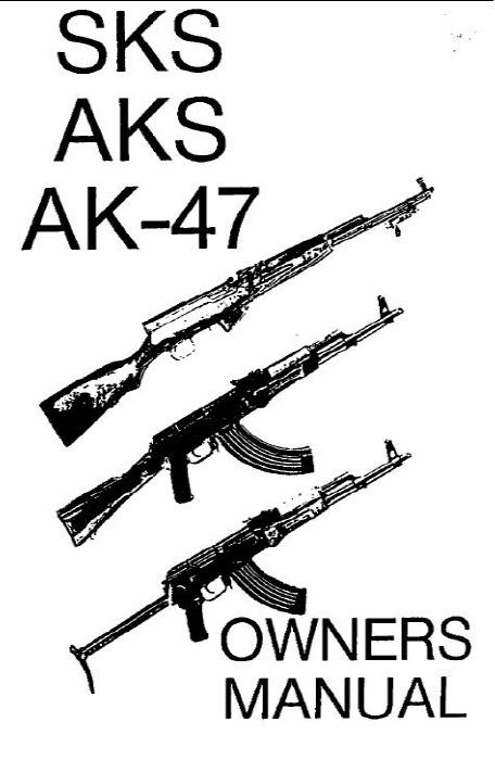 SKS 7.62x39 Full Auto Conversion Manual For Sale at