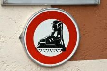 Don't go rollerblading