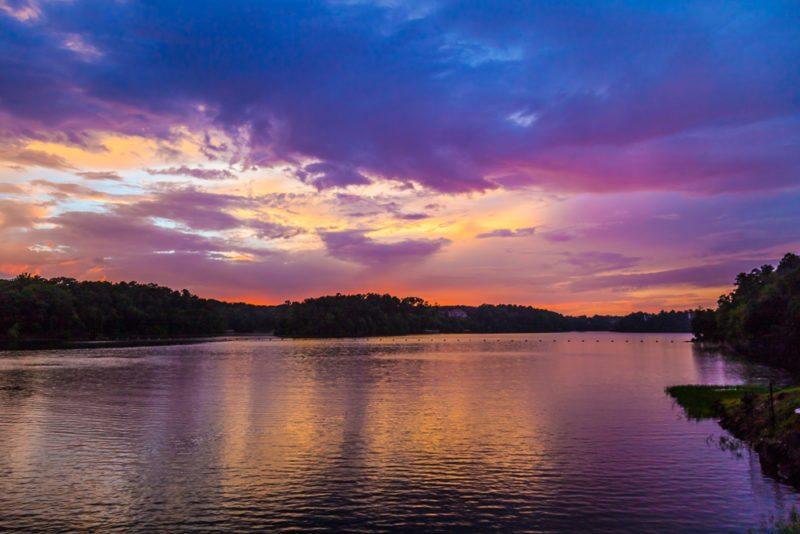 7/16/16 – Lake Tuscaloosa at Sunset   Picture Birmingham