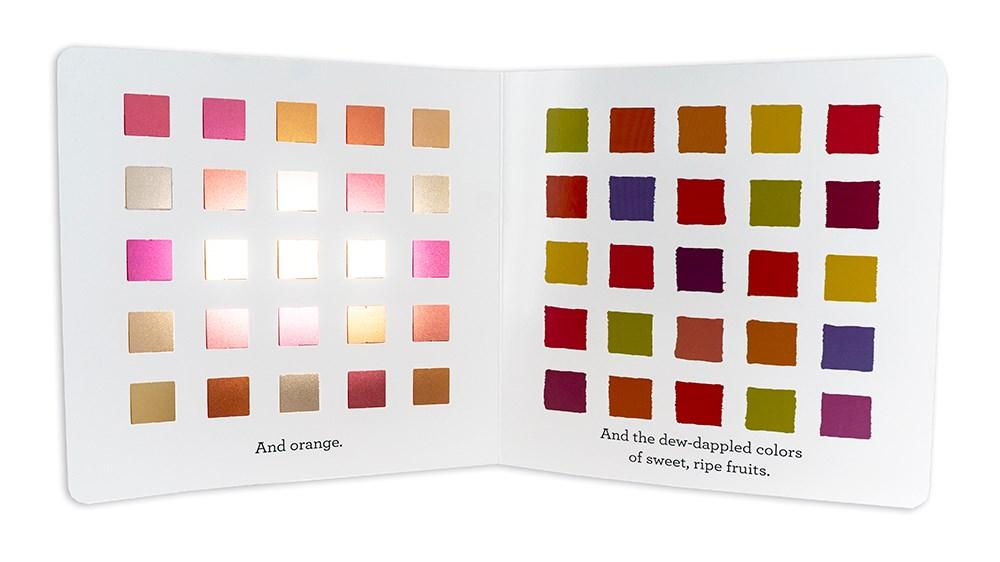 My Favorite Color Picture Book Spread 2