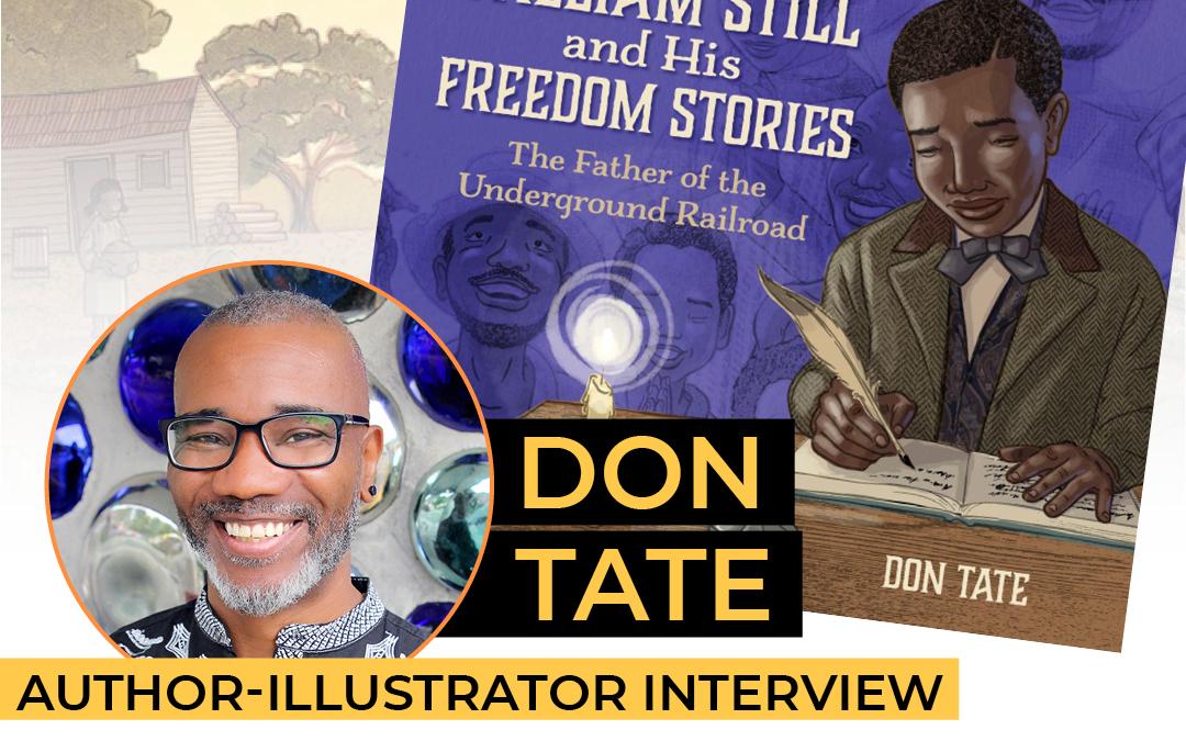 Picturebooking Don Tate