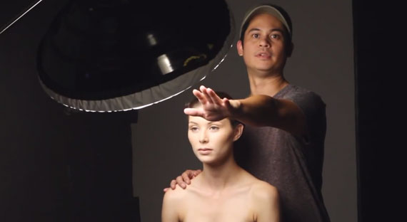 How to Set Up a Beauty Photoshoot With Just One Light