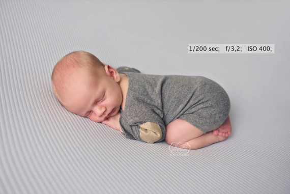 Newborn Posing Tips: Side Pose to Belly Pose