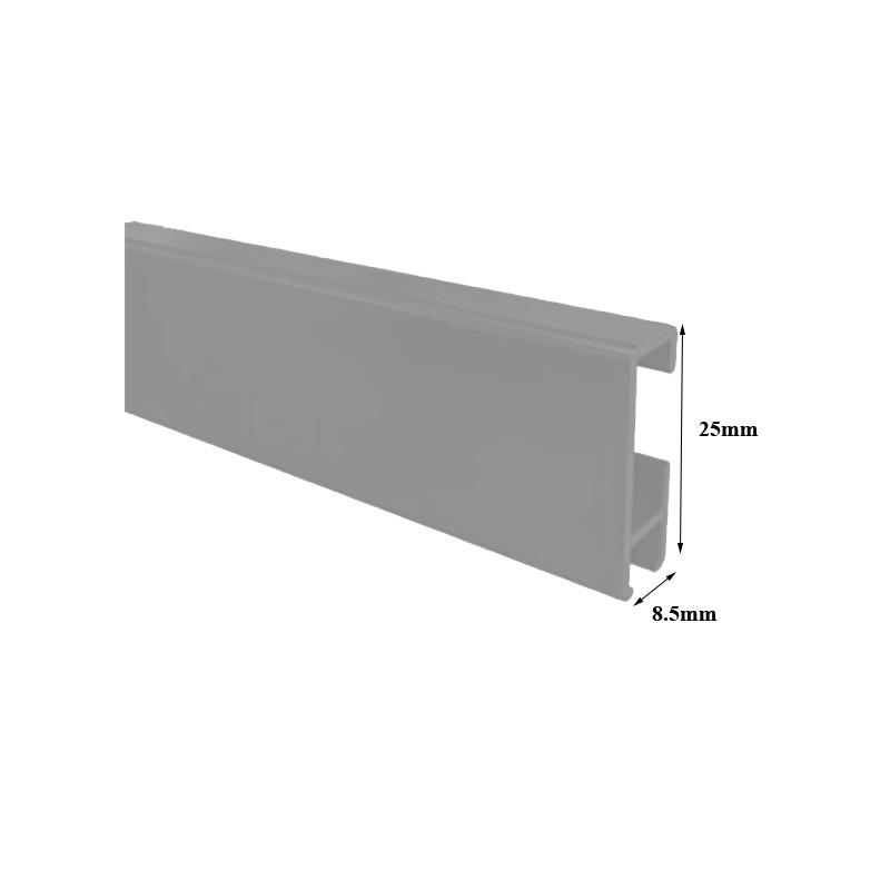 heavy duty aluminium ceiling curtain track room divider partition pelmets