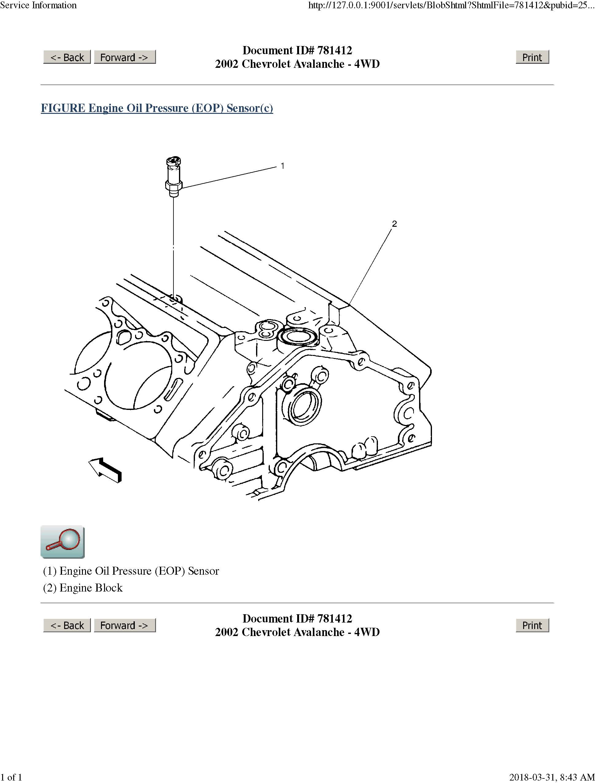 2003 Avalanche Wiring Diagram