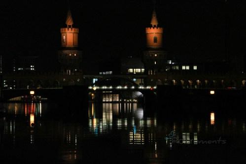 Berlin by night @ Oberbaumbrücke (B-Friedrichshain)